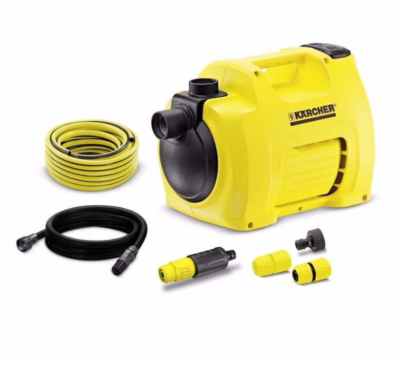 Sulama pompası -Karcher BP 3 GARDEN SET PLUS